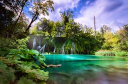 Le belle cascate dei Laghi di Plitvice