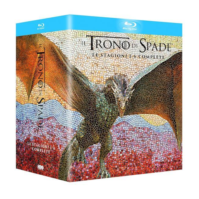 Cofanetto Blu-ray di Il Trono di Spade - Stagioni 1-6
