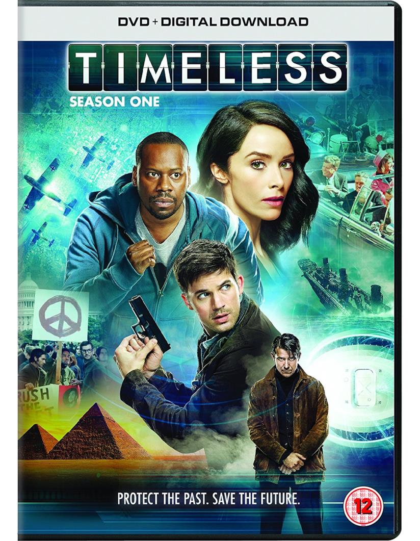 Cofanetto DVD di Timeless - Season 1