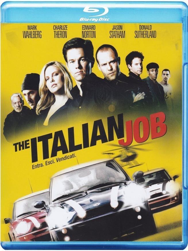 Cofanetto Blu-ray di The Italian Job