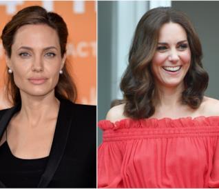 Angelina Jolie e Kate Middleton