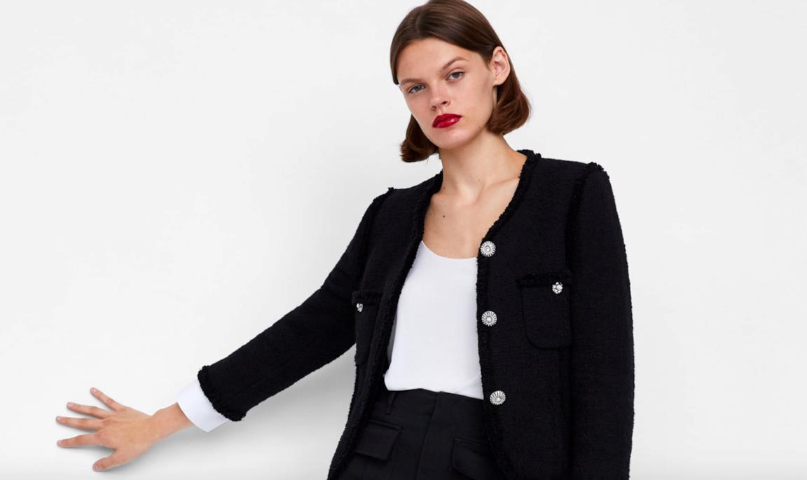 the latest 8848e 335d8 Le giacche Zara che sembrano di Chanel