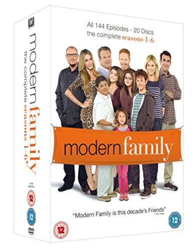 Cofanetto DVD di Modern Family - Seasons 1-6