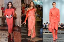 Abiti, scarpe e borse living coral di moda per il 2019 secondo Pantone