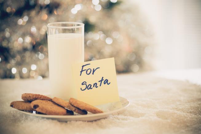 Latte per Babbo Natale