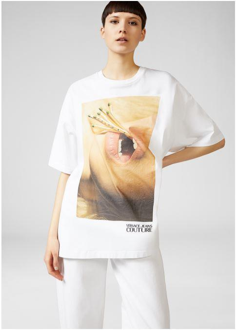T-shirt oversize Versace Jeans Couture