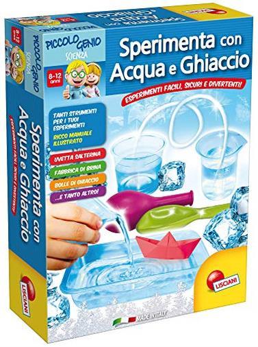 Piccolo Genio Scienza Sperimenta con Acqua e Ghiaccio