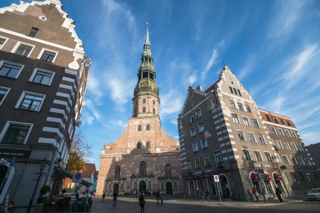 La Chiesa di Riga dedicata a San Pietro