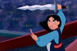 L'eroina Disney Mulan