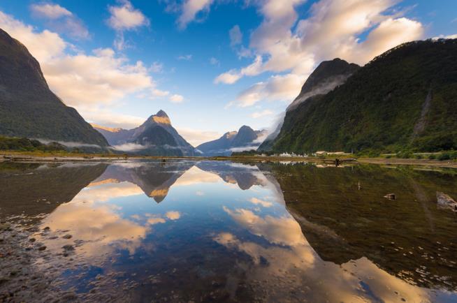 Milford Sound in Nuova Zelanda