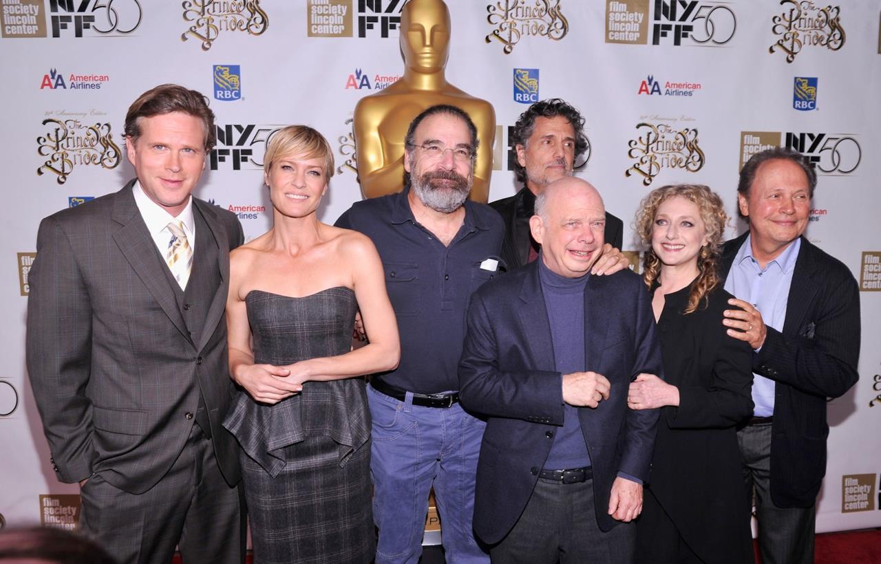 Gli attori di La storia Fantastica al party per il 25esimo anniversario