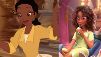 Il personaggio di Tiana nei film Disney