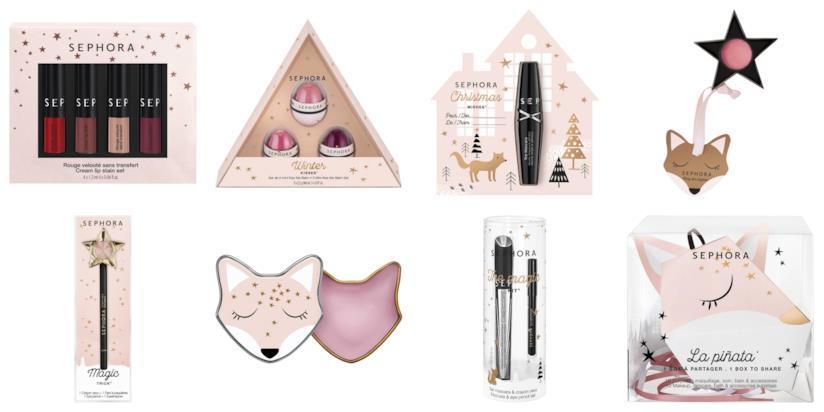 Prodotti Make Up di Sephora Collection per Natale