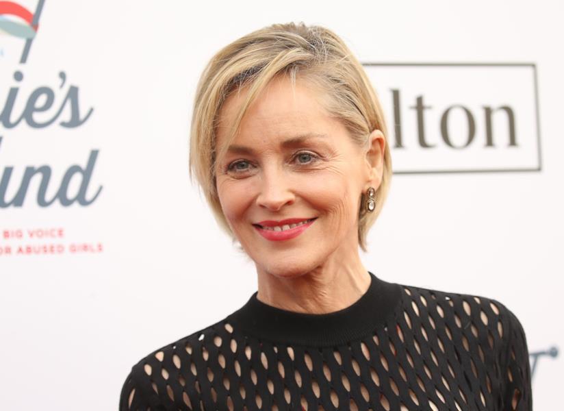 Sharon Stone sul red carpet