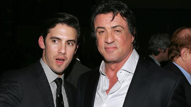 Sylvester Stallone e Milo Ventimiglia ai tempi di Rocky