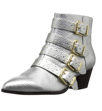 The Fix Women's Hazel 4 Buckle Strap Ankle Boot