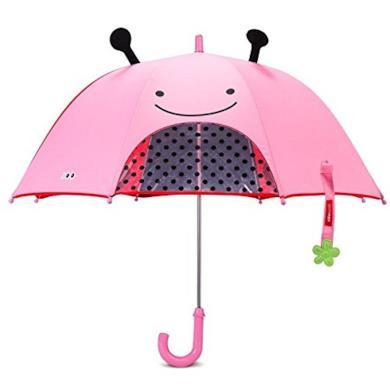 Ombrello da bambina, motivo coccinella