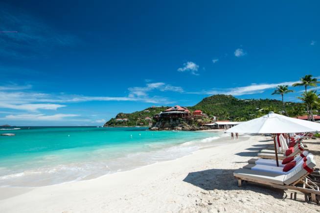 Caraibi, una spiaggia di St. Barth