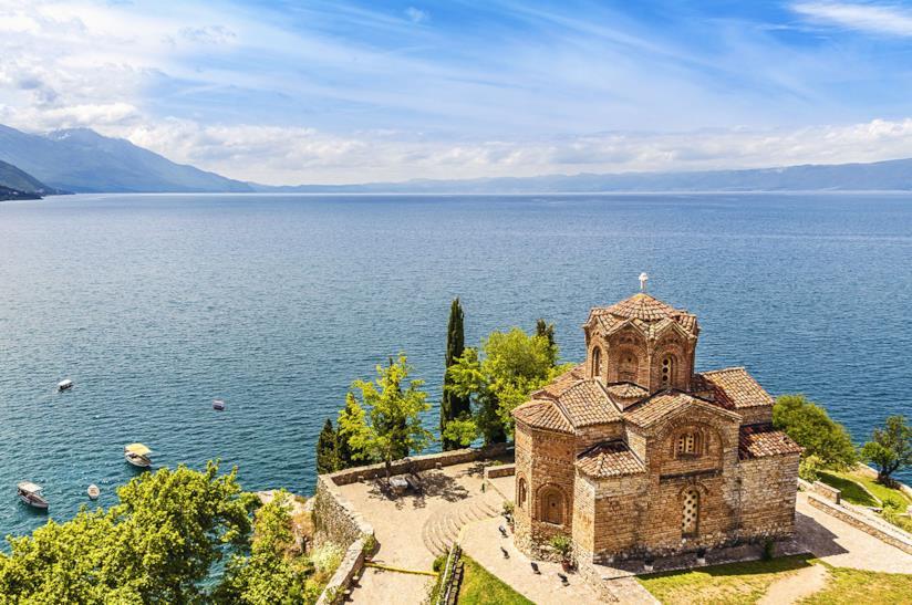 Lago Ohrid in Macedonia, meta per viaggi di gruppo