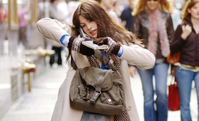Anne Hathaway nel film Il Diavolo Veste Prada (2006)