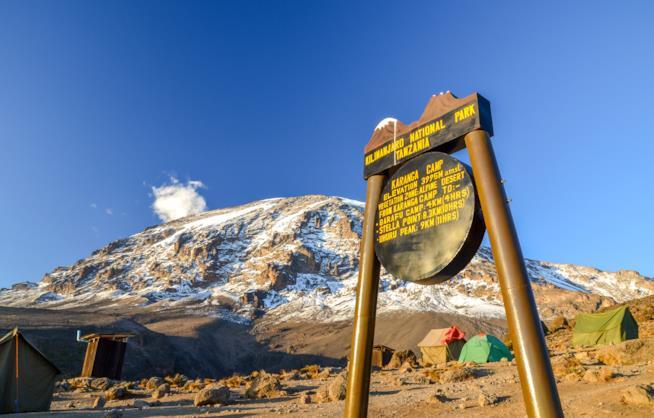 Karanga Camp at Mount Kilimanjaro - Tansania, Africa