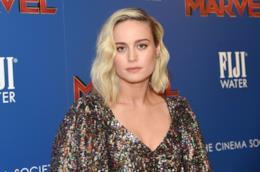 Brie Larson alla prima di Captain Marvel