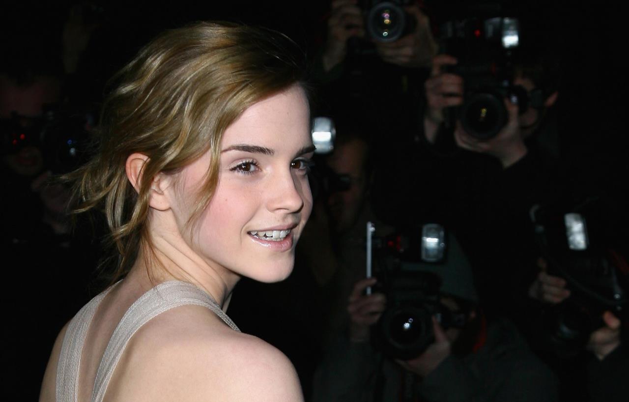 Un raccolto chic per Emma Watson