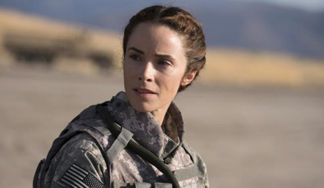 Abigail Spencer è Megan Hunt in una scena di Grey's Anatomy 14x05