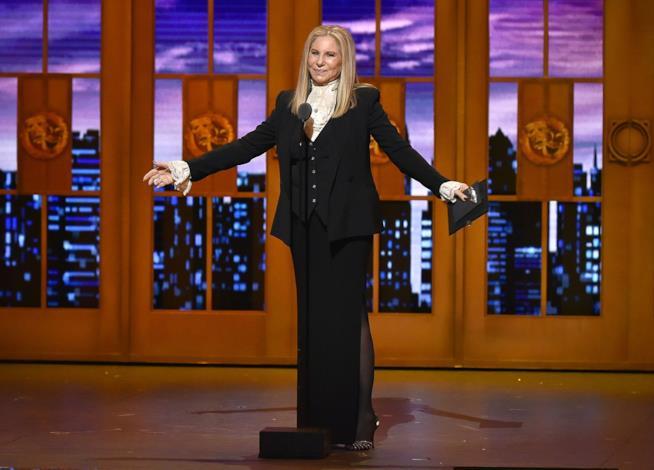 Il nuovo album live di Barbra Streisand