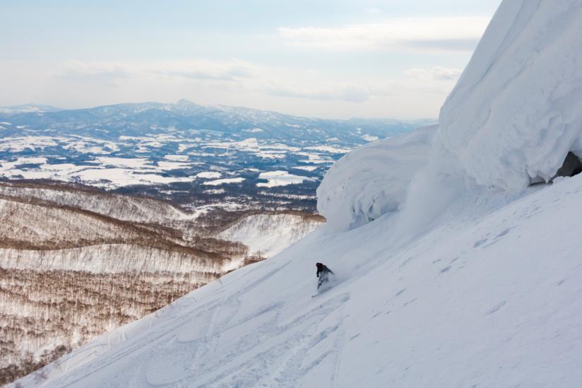 Hokkaido, discesa, Giappone