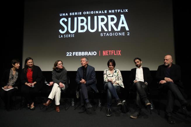 Conferenza stampa di Suburra