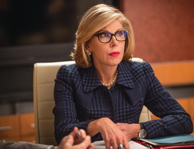 Christine Baranski in un episodio di The Good Wife