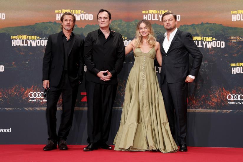 La prima di C'era una volta... A Hollywood con Bra Pitt, Quentin Tarantino, MArgot Robbie e Leonardo DiCaprio