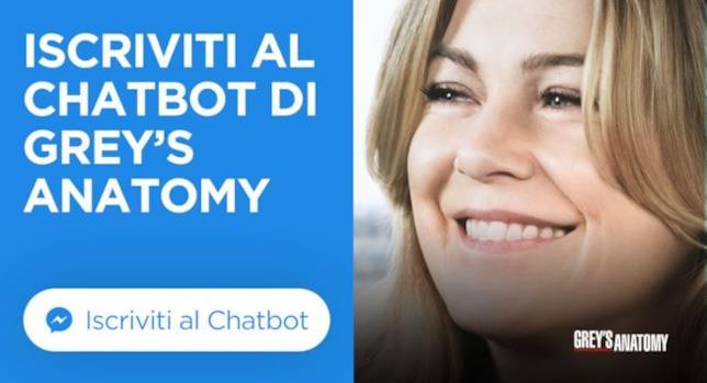 Grey's Anatomy: il chatbot