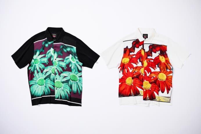 Maglietta/Camicia con stampa floreale Supreme/Gaultier