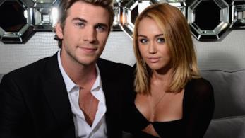 La coppia di star Miley Cyrus e Liam Hemsworth