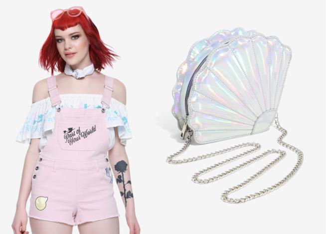 Alcuni vestiti della collezione Little Mermaid Collection It's All About Ariel