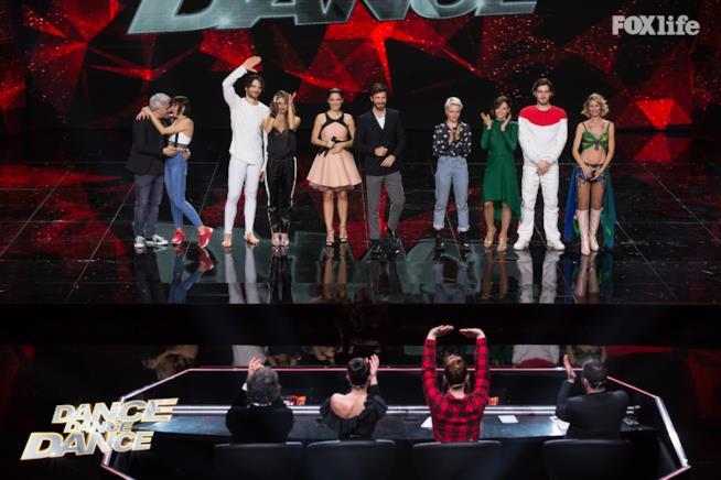 Tutti i concorrenti del sesto serale di Dance Dance Dance 2