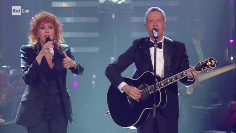 Fiorella Mannoia e Claudio Baglioni