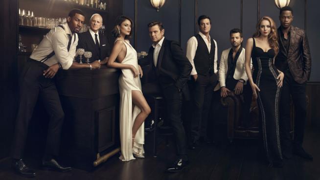 Una foto promozionale del cast di Dynasty