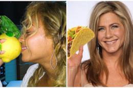 Beyoncé e Jennifer Aniston con i loro cibi preferiti per dimagrire