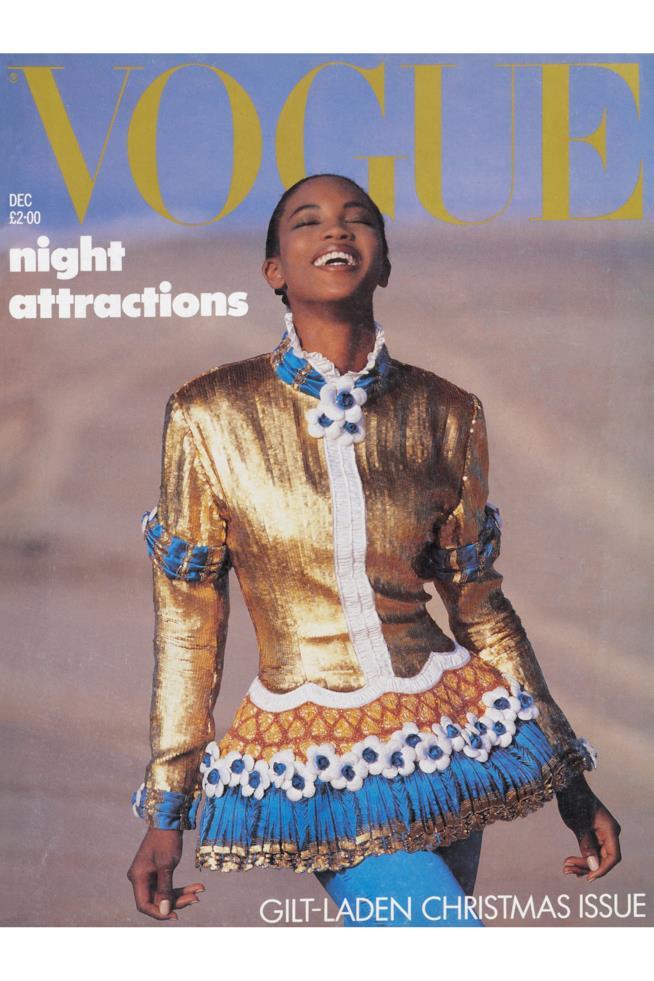 Naomi Campbell in copertina su Vogue
