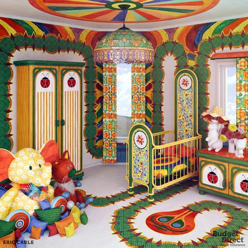 Camerette da sogno: le camerette ispirate ai libri per bambini
