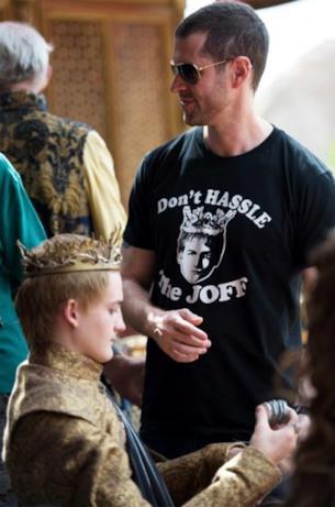 Joffrey in una scena di GOT