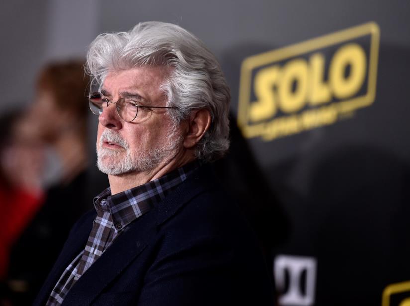 Il regista George Lucas