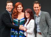 I quattro protagonisti della serie Will & Grace