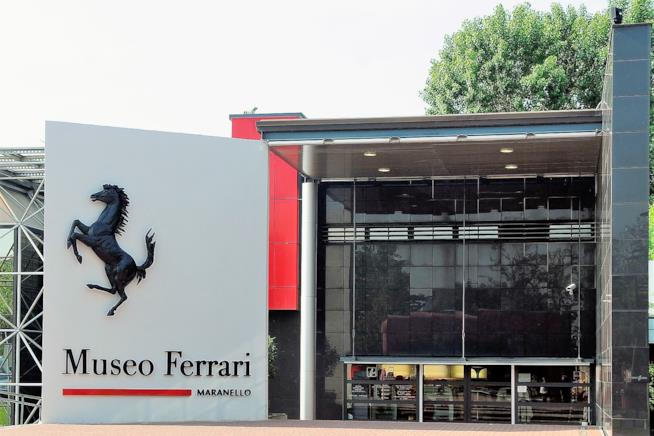 Ingresso Museo Ferrari a Maranello