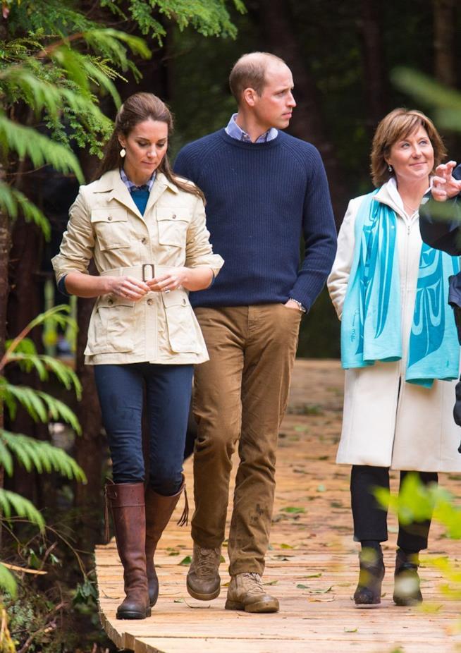 Kate Middleton alla Great Bear Rainforest