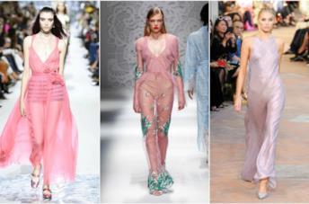 I vestiti in Millennial Pink di haute couture per l'estate 2018