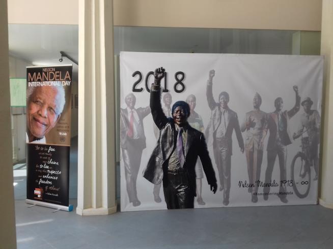 Nelson Mandela la Mostra a Roma per i 100 anni